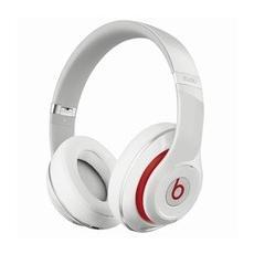 Beats Studio New Cuffie Supra-Aurali ad Alta definizione Isolamento acustico Batteria ricaricabile Autonomia 20 ore - Bianco
