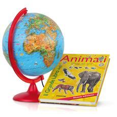 Mappamondo Zoo+libro Animali