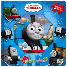 Trenino Thomas (Il) - Libro Puzzle