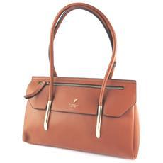 bag designer '' bruno tan (3 scomparti) - 37x23x14 cm - [ n9142]