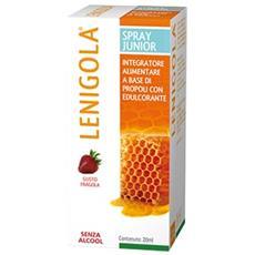 Lenigola Spray Junior Gusto Fragola 20 Ml