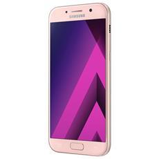 """Galaxy A5 (2017) Rosa Display 5.2"""" Ram 3GB Storage 32GB +Slot MicroSD Wi-Fi 4G / LTE Fotocamera 16Mpx Android 6.0 - Italia RICONDIZIONATO"""