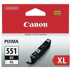 CLI-551XL BK Cartuccia Ink Originale Nera per Canon PIXMa MG6350 Capacità 4425 Pagine