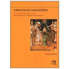 L'editto di Costantino. Testo greco e latino a fronte