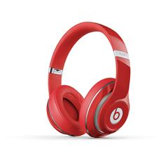 Beats Studio New Cuffie Supra-Aurali ad Alta definizione Isolamento acustico Batteria ricaricabile Autonomia 20 ore - Rosso