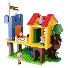 Peppa Pig blocks casa sull'albero 94pz (9/2014) 800057077