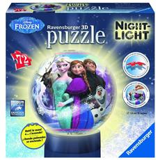 Puzzle 3d Lampada Frozen