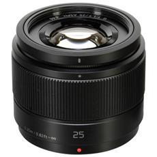 Obiettivo Panasonic G-Serie 25mm F1.7 Nero