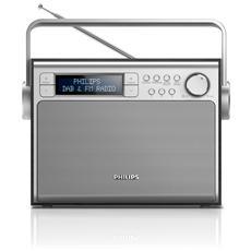 AE5020B / 12, Portatile, Digitale, DAB+, FM, Auto tuning, LCD, C