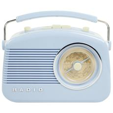 HAV-TR710BU, C, Portatile, Dial scale, Analogico, AM, FM, AC, Batteria