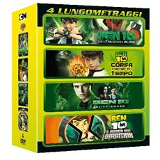 Ben 10 Film Collection (4 Dvd)