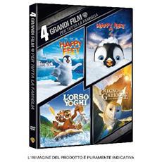 Dvd 4 Grandi Film-per Tutta La Famiglia