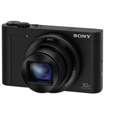 DSC-WX500 Nero Sensore CMOS Exmor R 18Mpx Zoom Ottico 30x Display 3'' Filmati Full HD Stabilizzato Wi-Fi / NFC