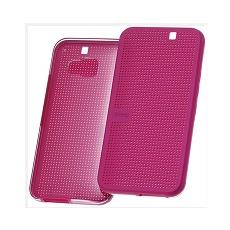 Dot view flip cover premium candy floss one m9