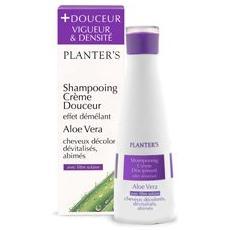 Shampoo dolce aloe vera per capelli danneggiati