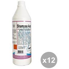 Set 12 Shampoo 1 Lt. Accessori Auto E Moto