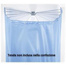 Set Sospensione Ad Ombrello 12 Braccia Cromo-bianco Senza Tenda Per Vasca Da Bagno O Doc - Ombrella 10.11810