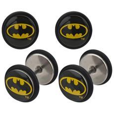 Orecchini Batman - Logo Fake Plug Set