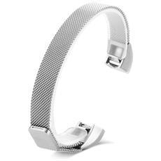 Cinturino In Acciaio Inossidabile Da 12 Mm Per Fitbit Alta / Alta Hr Smart Wristband