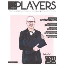 The players. magazine. fashion style, contemporary design, travel. 8.