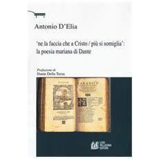 'ne La Faccia Che A Cristo / Più Si Somiglia: La Poesia Mariana Di Dante