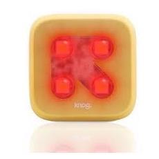 Luce a LED Rossa Blinder 4 per Bici Colore Oro