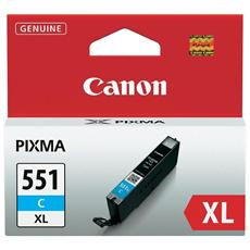 Cartuccia Canon Originale Cli551Xlc Ciano 6444B001