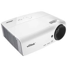 Proiettore D555WH DLP XGA 3000 ANSI lm Rapporto di Contrasto 15000:1 HDMI / VGA