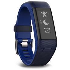 VivoSmart HR+ Fitness Band con GPS + Frequenza Cardiaca Taglia M / Regular colore Blu