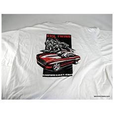 G0103304 T-shirt Evil Xl / l Manica Corta Modellino