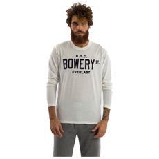 T-shirt Maniche Lunghe Uomo Light Bianco Xxl