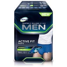 Men Active Fit Pants L (fianchi 95-130 Cm) 96 Pants