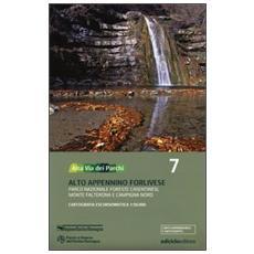 Alta via dei parchi 1:50.000. Vol. 7: Alto Appennino forlivese. Parco nazionale Foreste Casentinesi, monte Falterona e Campigna nord.
