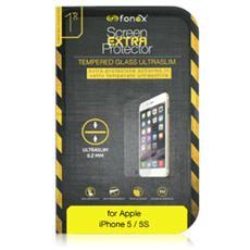 Protezione Schermo in Vetro Temperato Ultra Sottile 0,2 mm per iPhone 5/5S / 5C / SE (1Pz)