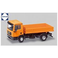 67102 Man Tg-l 2axles 1/50 With Low Side Modellino