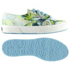 Scarpa Donna Cot Fabric Bahamas 38 Fantasia Azzurro