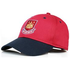 Official Football Merchandise Cappellino Da Baseball Del West Ham Fc Adulti (taglia Unica) (bordeaux)