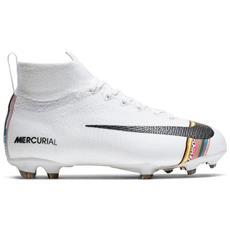 6c879e0a7bb04a NIKE - Scarpe Calcio Bambino Nike Mercurial Superfly Elite Fg Lvl Up Pack -  Taglia: 36,5 - Colore: Bianco Argento