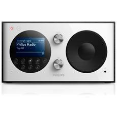 AE8000, 3,5 mm, Portatile, LCD, DAB, FM, 287 x 170 x 153 mm, Bianco