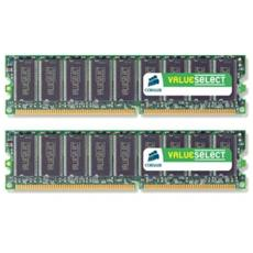 Memoria Dimm Value Select 2 Gb (2x1Gb) ddr2 667 Mhz Unbuffered CL5