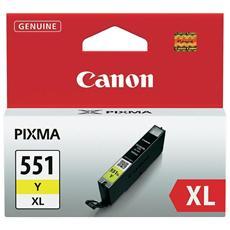 CLI-551XL Y Cartuccia Ink Originale Gialla per Canon PIXMa MG6350 Capacità 685 Pagine