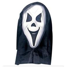 Maschera Fantasma con Cappuccio e Occhi Invisibili in Etilene Vinil Acetato e Poliestere