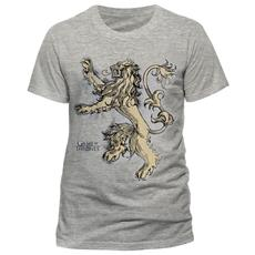 Game Of Thrones - Lannister Lion (T-Shirt Unisex Tg. 2XL)