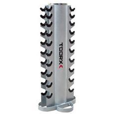 Rastrelliera Porta Manubri Per Riporre 10 Coppie. Dimensioni: 47×47×121 Cm