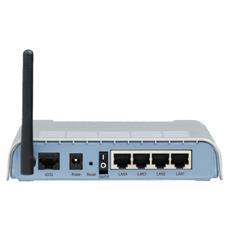 SMC ADSL2 Barricade g Wireless 4-Port Annex B ADSL2/2+ Modem Router, CCK, OFDM, ADSL, 2 Mbit / s, 24 Mbit / s, IEEE 802.11b, IEEE 802.11g, IEEE 802.1d, IEEE 802.3, IEEE 802.3u, RIP v. 1/2