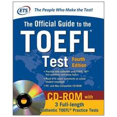 Official guide to TOEFL IBT. Con CD-ROM
