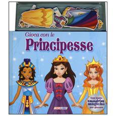 Gioca con le principesse. Con magneti
