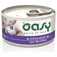 Cibo per gatti Wet Cat Mousse con Tacchino 85 gr