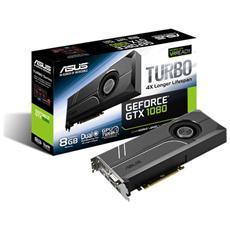 GeForce GTX 1080 8 GB GDDR5X Pci-E DVI Dual Link / HDMI / 3x Display Port Turbo