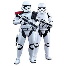 Figura Star Wars Episode Vii Mms Action Figure 2 Pack 1/6 First Order Stormtrooper E Fos Officer